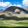 Kirghizistan : panorama du Col de Pereval Kalmak-Ashu