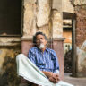 India: napping in an old colonial house in Calcutta