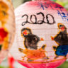 New Year's Eve 2020 lanterns in Tapei, year of the Rat… and the coronavirus