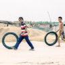 Bangladesh: game scene in Mongla